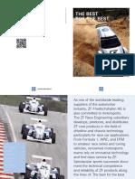 ZF Imagebroschuere Motorsport