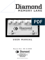 Diamond Memorylane Manual
