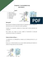 Componentes y Funcionamiento Del Mastografo