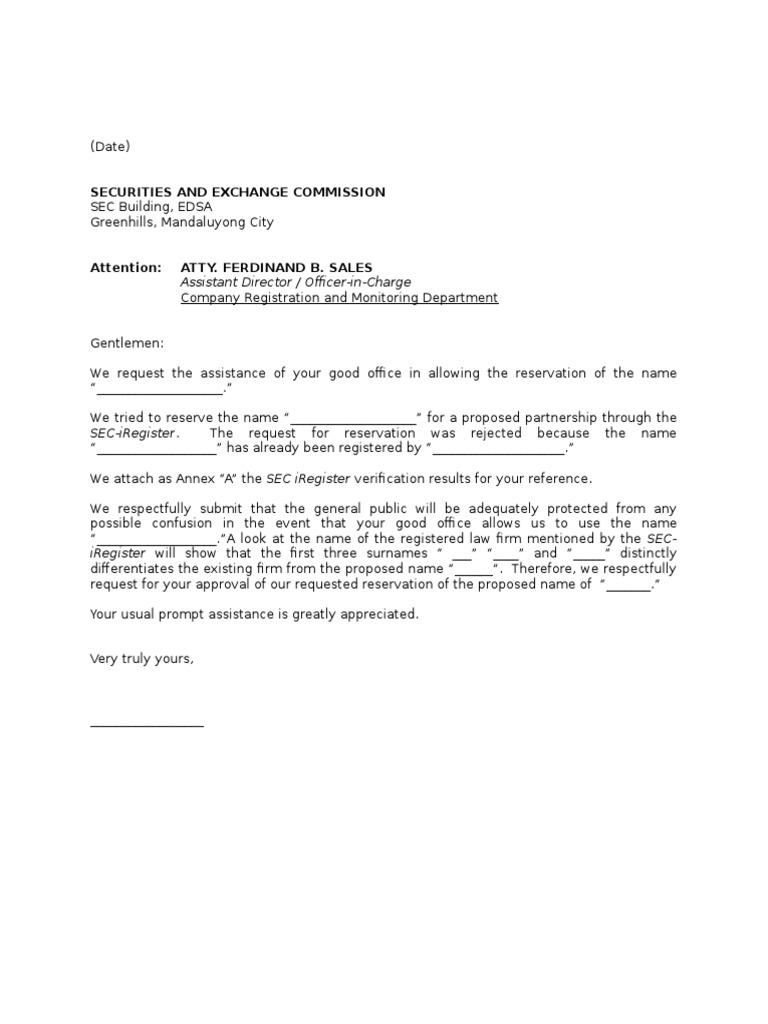 Letter of appeal name verification sec spiritdancerdesigns Images