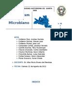 Metabolismo Microbiano Trabajo