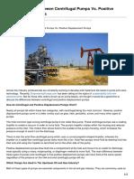 Empoweringpumps.com-The Differences Between Centrifugal Pumps vs Positive Displacement Pumps