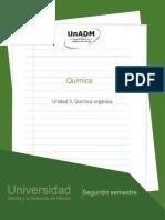 Quimica Organica UnADM