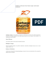Garbage Enzyme