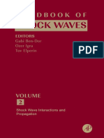 Handbook of Shock Waves Vol. 2 - Shock Waves Interaction and Propagation (Gabi Ben-Dor)