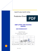 SHELL_SMEP Lifting and Hoisting Manual Rev. 1.0