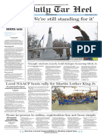 The Daily Tar Heel for Jan. 17, 2017