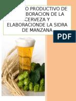Proceso de Elaboracion de La Cerveza y Sidra de Manzana