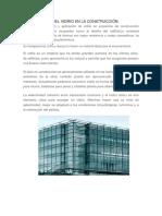 Aplicaciones Del Vidrio en La Construcción 1w
