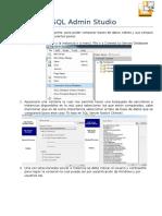 SQL Admin Studio-Guìa Ràpida