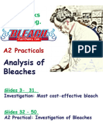 Analysis Bleaches
