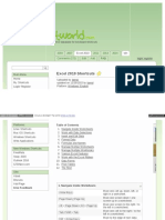 Www Shortcutworld Com en Win Excel 2010 HTML