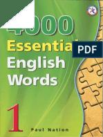 4000 Essential English Words1 AnswerKey