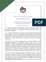 FORUM CIVIL DES MAROCAINS D'EUROPE