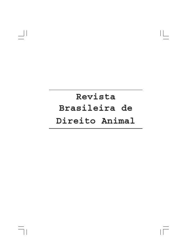 Revista Brasileira de Direito Dos Animais Vol.2 32cf7b8a11d9d