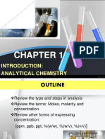 Chm 256 Chapter 1
