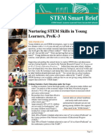 STEM Smart Brief-Early Childhood Learning