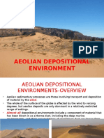 Clastic Sedimentology Aeolian Depositional Environment May 2016 1