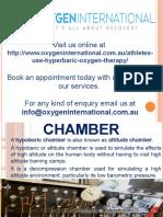 Hypobaric Chamber