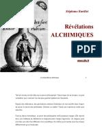 Révélations alchimiques