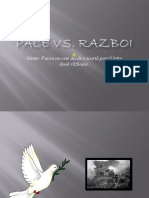 Pace vs Razboi