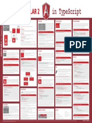 Angular 2 Cheatsheet pdf | Hypertext Transfer Protocol | Json