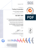 Iso Certificate 2014