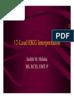 12-Lead Ekg Interpretation