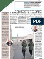 Il gelo del PD sulla riforma Ersu - Il Resto del Carlino del 13 gennaio 2017