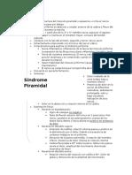 síndrome Piramidal y síndrome de neurona motora