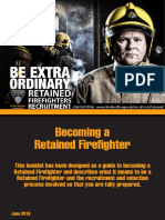 Role of a Retained Firefighter - June 2016