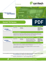 Nortel TN Series - Carritech Telecommunications
