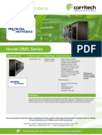 Nortel DMS - Carritech Telecommunications