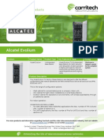 Alcatel Evolium - Carritech Telecommunications