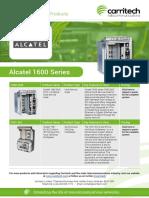 Alcatel 1600 Series - Carritech Telecommunications