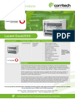 Lucent Excel/EXS - Carritech Telecommunications
