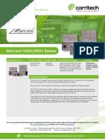 Marconi SMA/MSH - Carritech Telecommunications