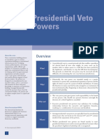 Presidential Veto Powers Primer