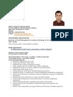 Umesh Resume
