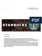 Starbucks Project - Maganzani Enrico, Venturi Elena