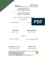 Proposal KP Pertamina EP