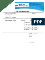 Medical Certificate Sick Leave Surat Sakit