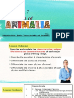 CHAPTER 7 - Animalia (Part 1) - Student