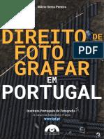 O direito de fotografar em Portugal de Mário Serra Pereira