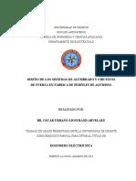TESIS.DISEÑO DE LOS SISTEMAS DE ALUMBRADO Y CIRCUITOS DE FUERZA EN FÁBRICA DE PERFILES DE ALUMINIO.doc
