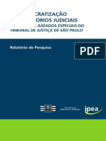 Desburocratização de Cartórios Judiciais