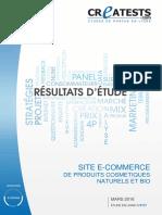 Etude de marché sur la distribution des cosmétiques et parfum