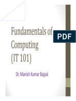 Algo Anf Fundamentals of C