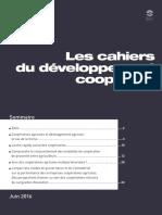 Cahiers Du Développement Coopératif