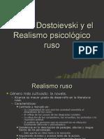 Dostoievski y el Realismo psicológico ruso